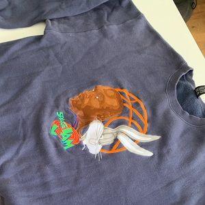 Vintage Warner Brothers Space Jam sweatshirt